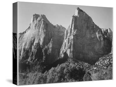 Court Of The Patriarchs Zion National Park Utah 1933-1942