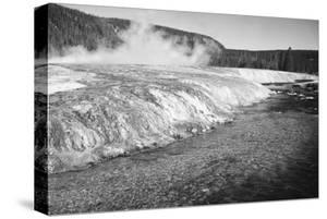 Firehold River, Yellowstone National Park, Wyoming, ca. 1941-1942 by Ansel Adams