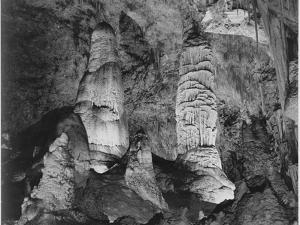 Giant Domes Carlsbad Caverns National Park New Mexico 1933-1942 by Ansel Adams