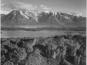 Grand Teton, National Park Wyoming, Geology, Geological 1933-1942 by Ansel Adams