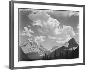 In Glacier National Park Montana 1933-1942 by Ansel Adams