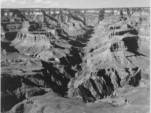 "Lighter Shadows ""Grand Canyon National Park"" Arizona 1933-1942 by Ansel Adams"