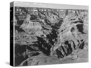 "Lighter Shadows ""Grand Canyon National Park"" Arizona 1933-1942 by Ansel Adams"
