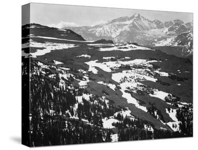 Long's Peak, in Rocky Mountain National Park, Colorado, ca. 1941-1942