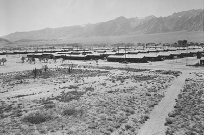 Manzanar from Guard Tower, Summer Heat