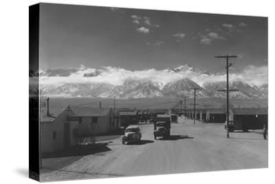 Manzanar Street Scene, Spring