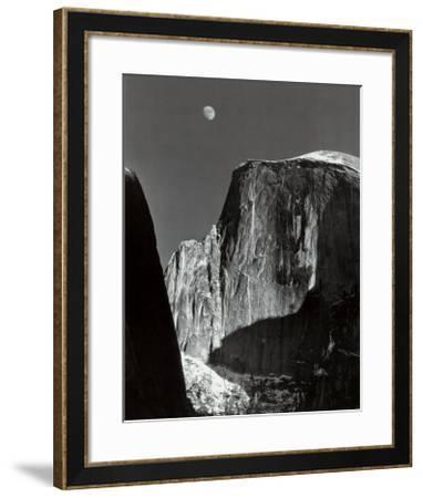 Moon and Half Dome, Yosemite National Park, 1960