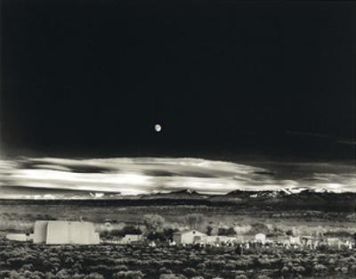Moonrise, Hernandez by Ansel Adams