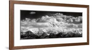 Mt. McKinley Range, Clouds, Denali National Park, Alaska, 1948 by Ansel Adams
