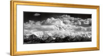 Mt. McKinley Range, Clouds, Denali National Park, Alaska, 1948 by Ansel Adams