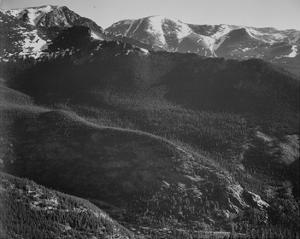 Rocky Mountain National Park, Colorado, ca. 1941-1942 by Ansel Adams