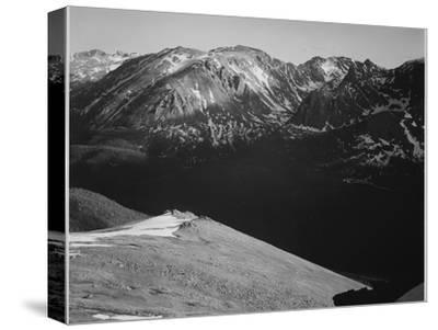 Rocky Mountain National Park Colorado Panorama Of Barren Mountains & Shadowed Valley 1933-1942