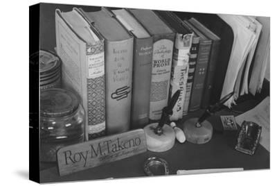 Roy Takeno's Desk, Manzanar Relocation Center