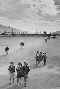 School Children by Ansel Adams