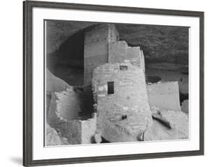"Section Of House ""Cliff Palace Mesa Verde National Park"" Colorado 1941. 1941 by Ansel Adams"