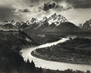 Snake River by Ansel Adams