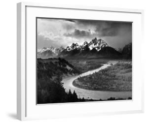 Tetons and The Snake River, Grand Teton National Park, c.1942 by Ansel Adams