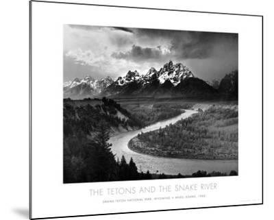 Tetons and The Snake River, Grand Teton National Park, c.1942
