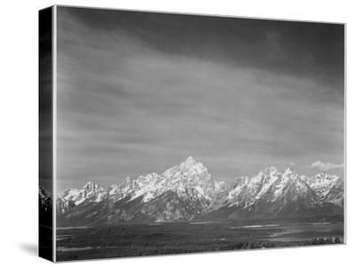 Tetons From Signal Mt View Valley & Snow-Capped Mts Low Horizons Grand Teton NP Wyoming 1933-1942