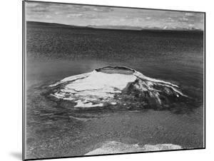 The Fishing Cone-Yellowstone Lake Yellowstone National Park Wyoming. 1933-1942 by Ansel Adams