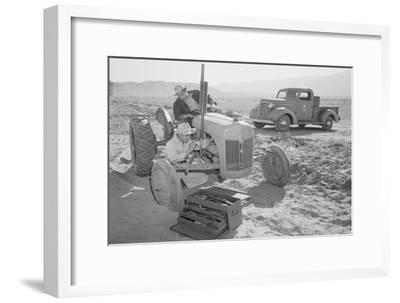 Tractor Repair: Driver Benji Iguchi, Mechanic Henry Hanawa,