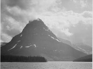 Two Medicine Lake Glacier National Park Montana 1933-1942 by Ansel Adams