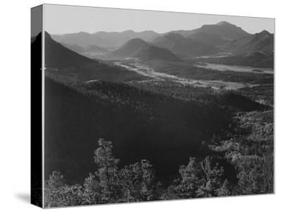 "Valley Surrounded By Mountains ""In Rocky Mountain National Park ""Colorado. 1933-1942"