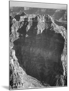 """View From """"North Rim 1941 Grand Canyon National Park"""" Arizona.  1941 by Ansel Adams"""