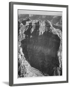 "View From ""North Rim 1941 Grand Canyon National Park"" Arizona.  1941 by Ansel Adams"