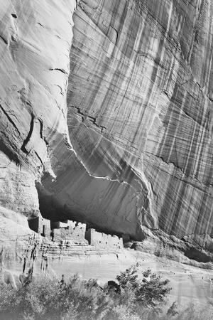 "View From River Valley ""Canyon De Chelly"" National Monument Arizona. 1933-1942"