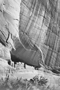 "View From River Valley ""Canyon De Chelly"" National Monument Arizona. 1933-1942 by Ansel Adams"