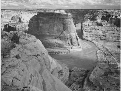 "View Of Valley From Mountain ""Canyon De Chelly"" National Monument Arizona. 1933-1942"