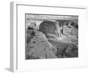 "View Of Valley From Mountain ""Canyon De Chelly"" National Monument Arizona. 1933-1942 by Ansel Adams"