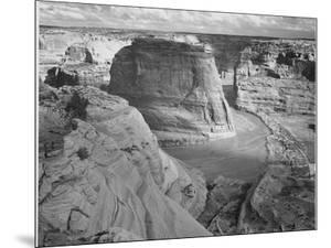 """View Of Valley From Mountain """"Canyon De Chelly"""" National Monument Arizona. 1933-1942 by Ansel Adams"""