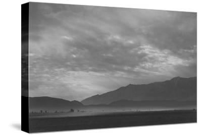 View Sw over Manzanar, Dust Storm