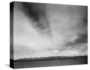 Yellowstone Lake, Yellowstone National Park, Wyoming, ca. 1941-1942 by Ansel Adams