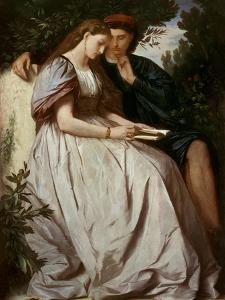 Paolo Und Francesca, 1864 by Anselm Feuerbach