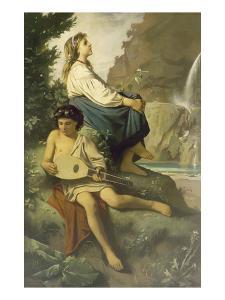 Ricordo Di Tivoli, 1868 by Anselm Feuerbach