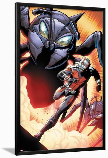 Ant-Man: Larger Than Life #1-Andrea Di Vito-Lamina Framed Poster