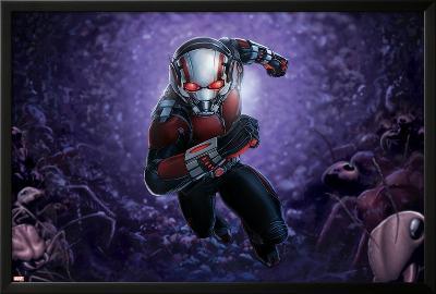 ANT-MAN--Lamina Framed Poster