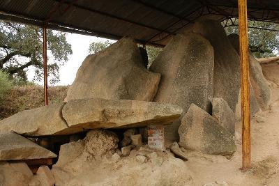 Anta Grande Do Zambujeiro. Megalithic Monument. 4000-35000 BC. Alentejo Region--Photographic Print