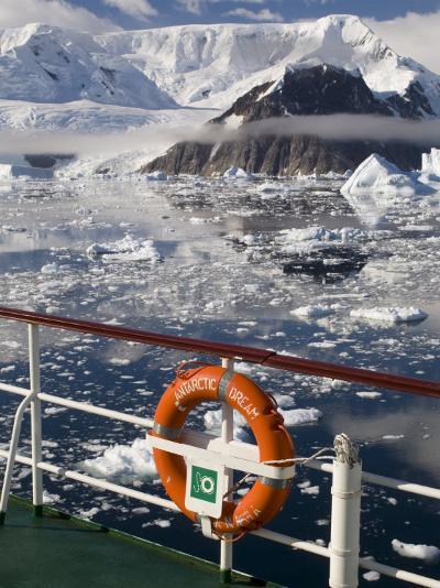Antarctic Dream Ship, Gerlache Strait, Antarctic Peninsula, Antarctica, Polar Regions-Sergio Pitamitz-Photographic Print