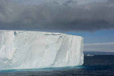 Antarctica. Antarctic Sound. Giant Tabular Iceberg-Inger Hogstrom-Photographic Print