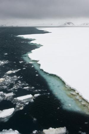 Antarctica. Pack Ice Edge-Janet Muir-Photographic Print