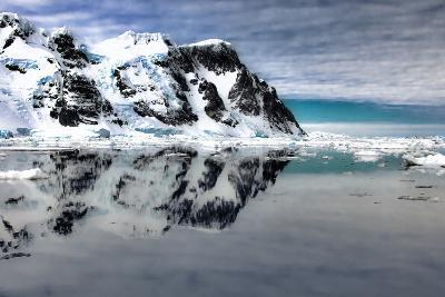 Antarctica. Scenic View of Lemaire Channel-Janet Muir-Photographic Print