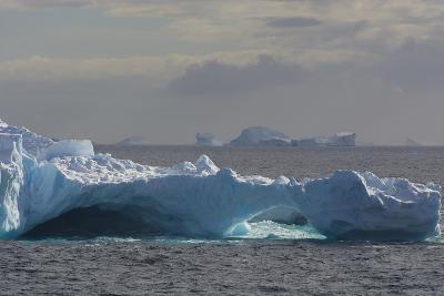 Antarctica. South of the Antarctic Circle. Iceberg-Inger Hogstrom-Photographic Print
