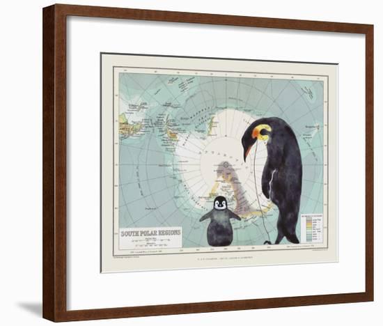 Antartica-Jane Wilson-Framed Giclee Print