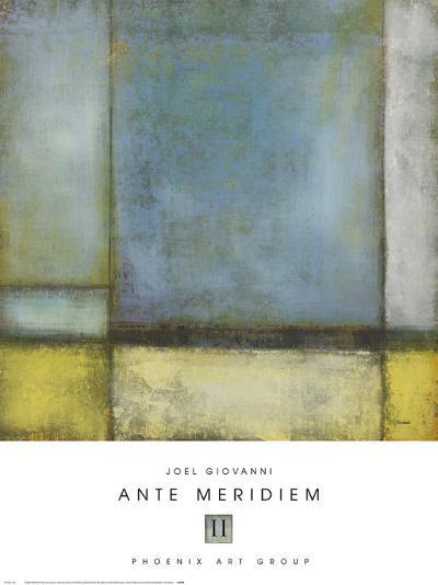 Ante Meridiem II-Joel Giovanni-Art Print