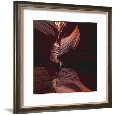 Antelope Canyon, a Slot Canyon in the American Southwest-Cesare Naldi-Framed Photographic Print