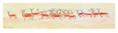 Antelope-Frank De Burgh-Art Print